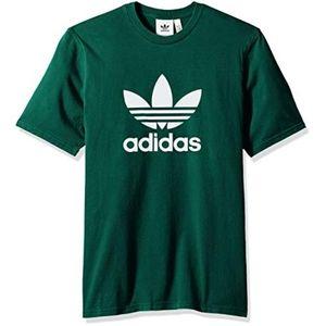 Womens Forest Green adidas shirt